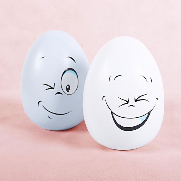 蛋形笑脸储钱罐1