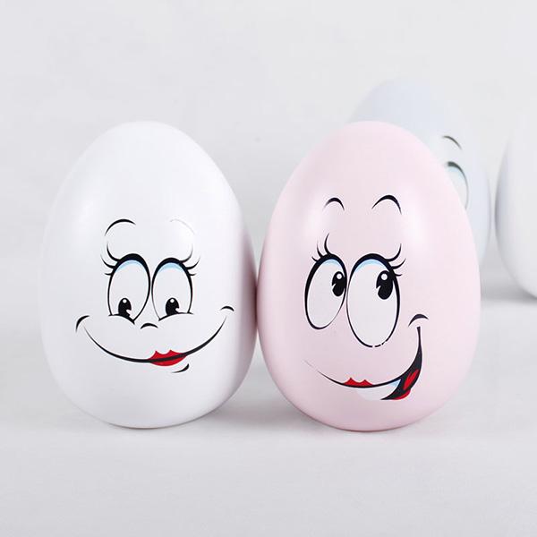 蛋形笑脸储钱罐2