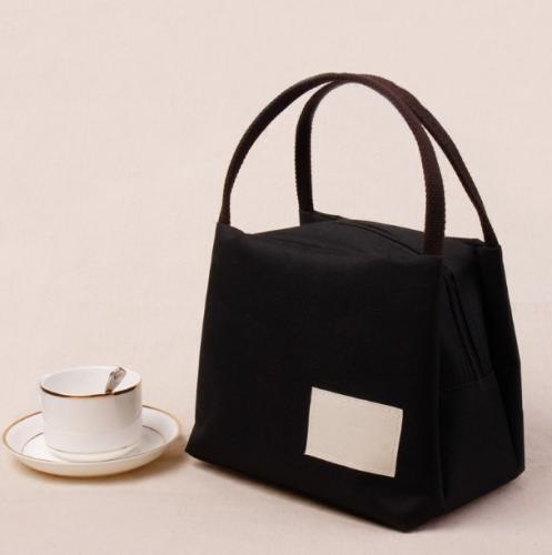 日本帆布手提包便当包保温饭盒袋