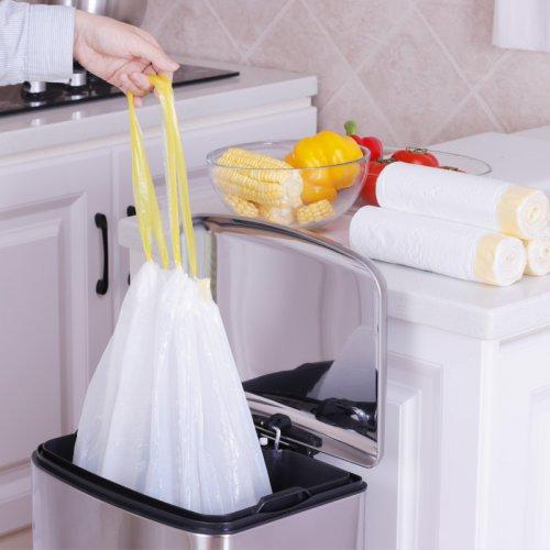 自动收口垃圾袋加厚家用手提式