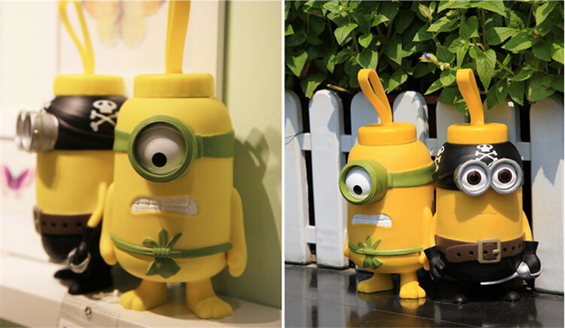 小黄人3D立体保温杯11