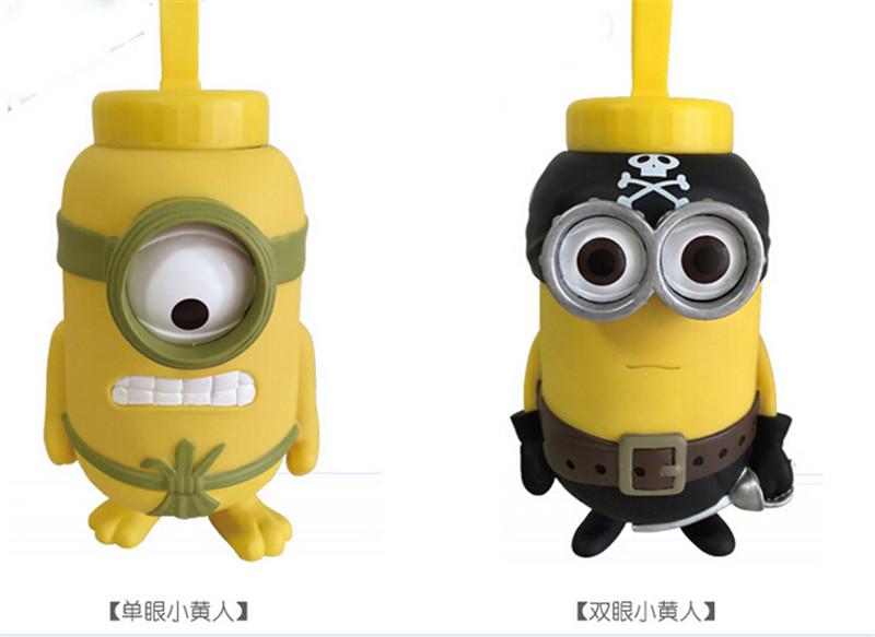 小黄人3D立体保温杯5