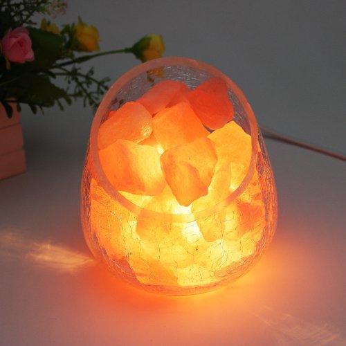 喜马拉雅玫瑰矿盐夜灯