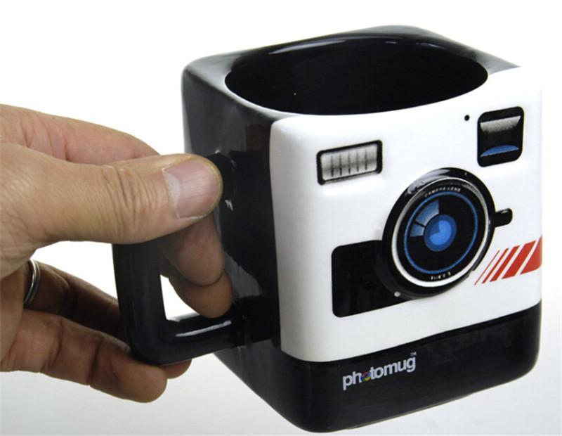 宝丽来相机造型马克杯3