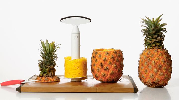 旋转式菠萝掏心去皮器 2