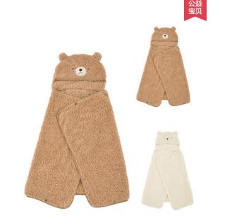 日本LIVHEART多功能抱枕被子两用毯子披肩