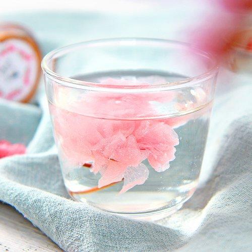 盐渍樱花茶日本樱花干饮泡樱花茶原料散罐装
