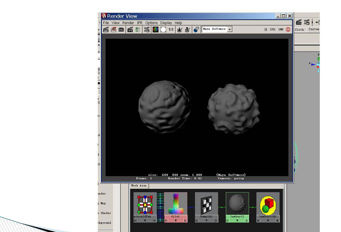 maya烘焙法线贴图教程图六 高清图片
