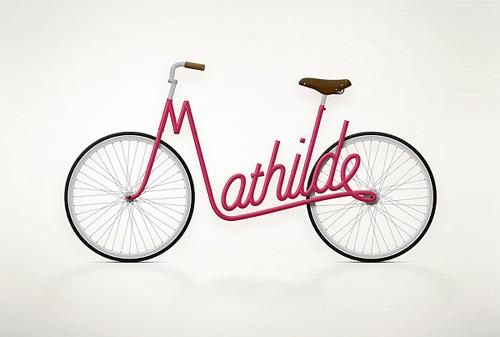 创意自行车设计图片展示